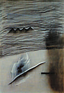 Painting by David Lynch