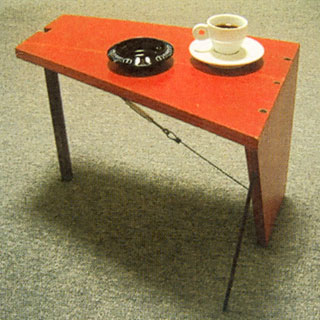 Table by David Lynch